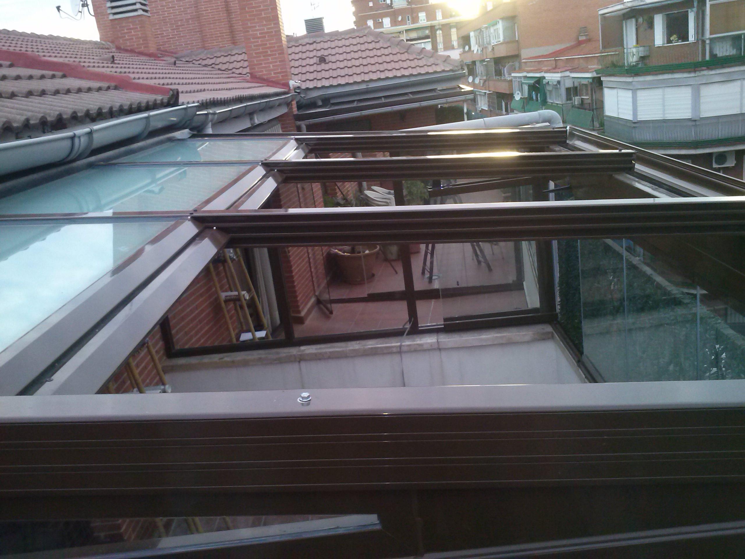 Techos de vidrio para terrazas free with techos de vidrio - Techos de vidrio para terrazas ...