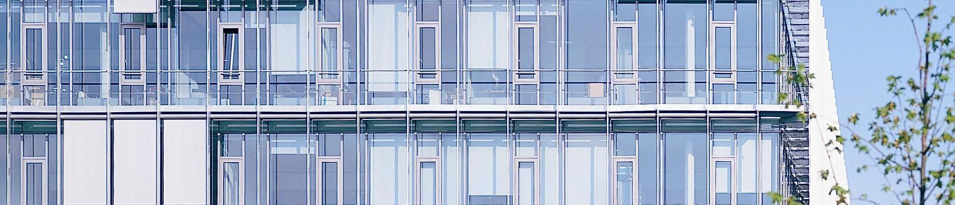 Paneles de vidrio para fachadas